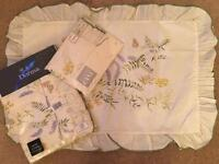 """Dorma double quilt cover and pillow cases """"Meadow"""""""
