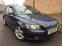 2005 (55) Volvo V50 2.0D SE FULL SERVICE HISTORY TOP OF THE RANGE SPEC CREAM LEATHER 2 Keys