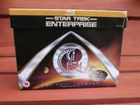 Star Trek Enterprise Blu-ray box set.