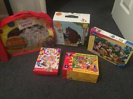 Large games/puzzle bundle 16 items