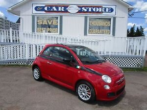 2012 Fiat 500 Sport SUNROOF HEATED LEATHER AC CRUISE