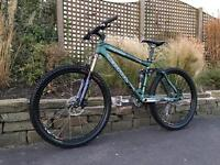 Kona dawg deluxe XC/Downhill bike, HIGH SPEC, FOX, DEORE