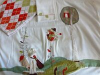 """Cot bed bedding set - """"Hodge &Podge"""" from Mamas & Papas"""