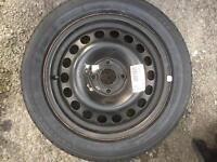 Vauxhall Corsa 01-06 new wheel and tyre 15""