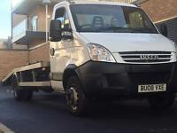 Iveco daily 65c 6.5 tonne recovery truck not tilt and slide beavertail LEZ COMPLAINANT