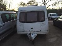 2005 sterling Europe 6 berth with fixed bunks caravan