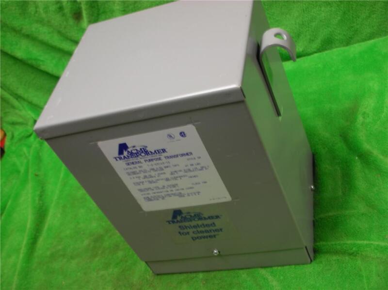 3KVA T2531431S ACME ELECTRIC DRY DISTRIBUTION TRANSFORMER 208 V 120/240 V 1PH