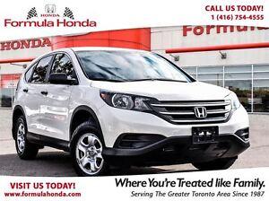 2014 Honda CR-V LX-  1 Owner, Clean, No Accidents.