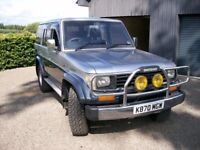 toyota landcruiser prado 2.4 turbo diesel lwb 1992 long mot,must be one of the best in the uk
