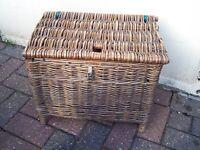 OLD FISHING BASKET £10
