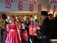 room 10 swing band is looking for a bassist!