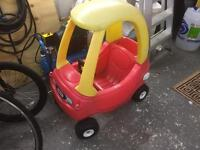 Little tykes Cosy coope push along car