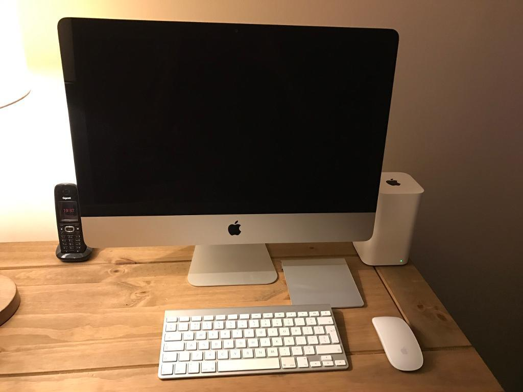 APPLE IMAC, KEYBOARD, MAGIC TRACKPAD AND MOUSEin Luton, BedfordshireGumtree - IMac 21.5 inch Late 2012, i7 quad core processor, 8GB RAM, 1 terabyte apple fusion drive. Apple keyboard, apple Magic Mouse, apple Magic Trackpad. £680. Very rarely used, Apple hardware test completed with no faults