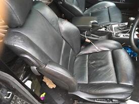 Bmw e46 coupe leather seats(electric with memory)