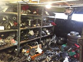 Car parts clearance, huge stock, bargain, joblots engine gearbox leather interiors alloys wholesale