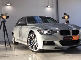 """BMW 3 Series 2.0 325d M Sport+RED LEATHERS+XENON LIGHTS+BLUE CLIPPERS+19"""" ALLOY WHEELS"""