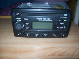Ford-6000CD-RDS-EON-Car-Radio-Stereo-fits-Fiesta-Focus