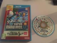 Wii U game super Mario bros.U