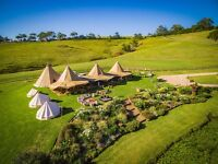 BYRON BAY, AUSTRALIA - Tipis and Sperry Sail Tents - Crew Chiefs/Leaders