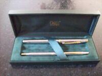 Cross Fountain pen and biro set