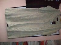 long line short sleeved cardigan