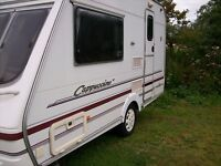 swift capuccino 2 berth 2002 with full new awning serviced new tyres only 800kg