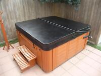 "Custom Hot Tub Cover 5"" tapered Free Delivery"