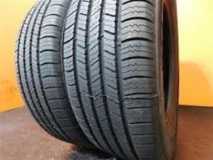 205/55R16 Bridgestone Turanza EL406 All Season 2 used tires, 85% tread left, Free Installation&Balance