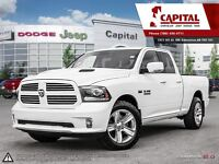 2013 Ram 1500 Sport 4x4 | HEATED AND COOLED LEATHER | HOOD