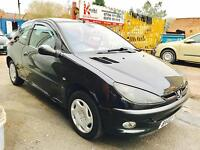 ★🎈WEEKEND SALE🎈★2003 PEUGEOT 206 1.4 PETROL ★MOT APR 2017★ ONLY 89K MILES ★ CAT-D ★ KWIKI AUTOS★