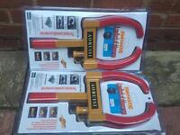 Brand new wheel clamp / lock (car/trailer/van/caravan/motor home/horse box)