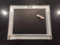 Pretty Chalk Board £15