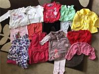 Baby Girls Outfit Bundle 3-6 Months