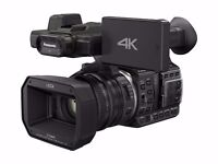 Panasonic HC-X1000E 4K Ultra HD Camcorder with 2 spare batteries.