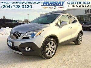 2016 Buick Encore Leather AWD *Nav* *Blind Side* *Heat Seats*