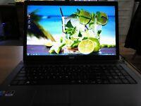 """Laptop Acer 7739G, big screen 17"""""""