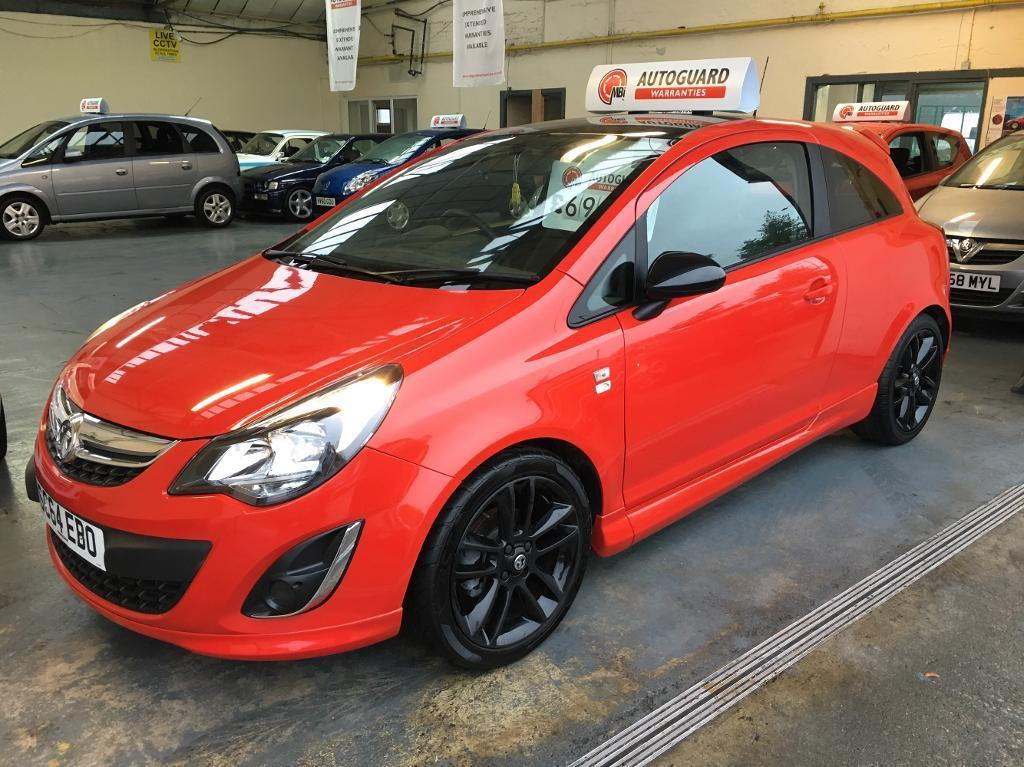 vauxhall corsa limited edition 1 2 3dr red best colour in liverpool merseyside gumtree. Black Bedroom Furniture Sets. Home Design Ideas