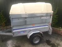 Larger franc tipping trailer + extension sides & abs hardtop