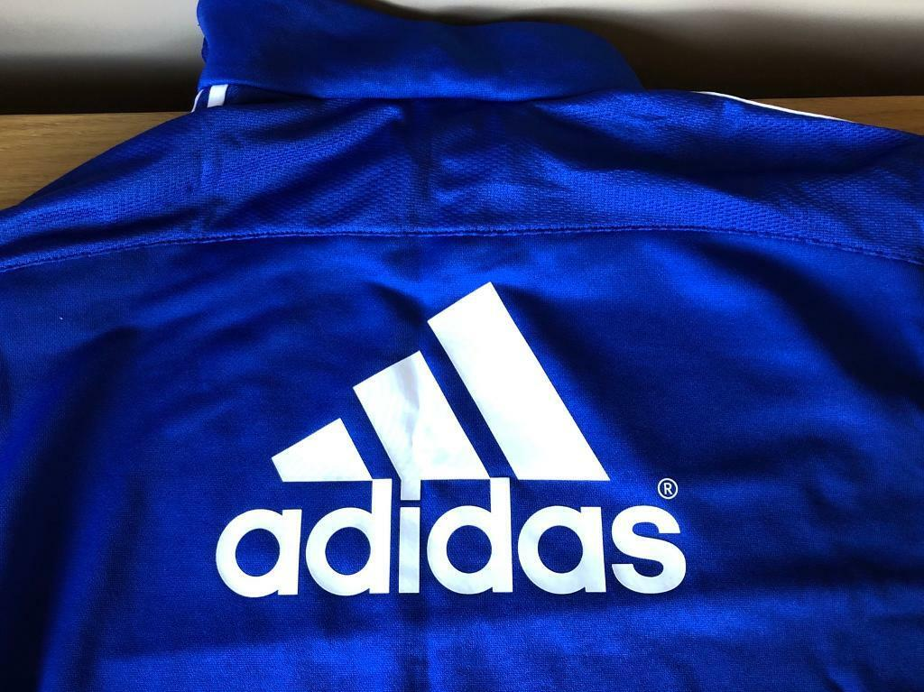 "Chelsea fc Adidas black training top size 46"" 48""   in Chelmsford, Essex   Gumtree"