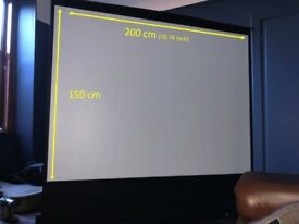 Projector Screen, 200 cm, Pull Up & Portable