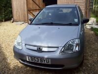Honda Civic 1.8 Diesel Fantastic car I have have had for 10yrs. and has been the most reliable ever
