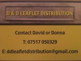 Leaflet/menus delivered