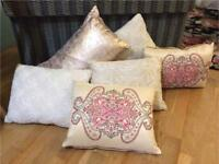 Beautiful Cushions - ALL 6 for £10!!