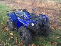 2008 Yamaha Grizzly 450 quad 4x4 farm offroad winter toy would swap