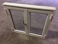 two new danish timber double glazed casement windows