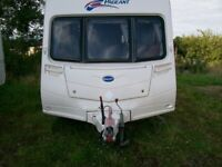 bailey chapange 4 berth 2008 full awning end shower room side dinette excellent condition