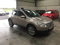 2009 Nissan qashqai tekna 2.0dci 4x4 automatic leather pan roof sat nav