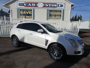 2014 Cadillac SRX Premium HEATED STEERING WHEEL HEATED/COLL LEAT