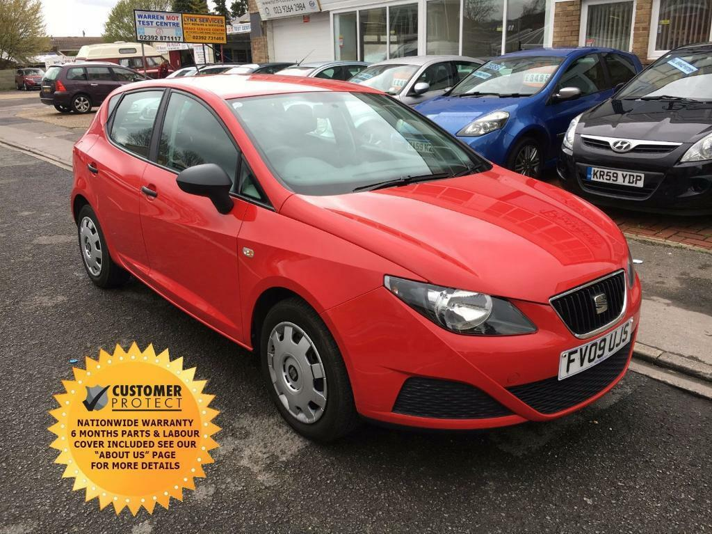 seat ibiza 1 2 s air con 5dr hatchback red 2009 in portsmouth hampshire gumtree. Black Bedroom Furniture Sets. Home Design Ideas
