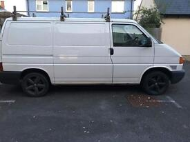 Choice of 4 vans , 2002 Vw Volkswagen transporter t4 2.5 tdi Swb only 171k Miles